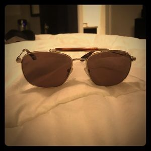 Suitsupply Sunglasses Gold metal / tortoise color